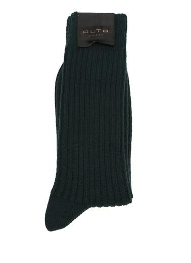 Alto Socks Alto Socks   Erkek Yün Çorap 101560319 Yeşil